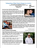 Independence Alumni Spectator Newsletter